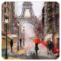 Подставки под стакан Top Art Studio Свидание в Париже 10.5x10.5см, 6шт - Top Art Studio