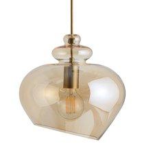 Лампа подвесная Grace d30 см, стекло, шампань - Frandsen