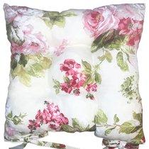 "Подушка на стул ""Верона"", 41х41 см, P705-1852/1, цвет бордовый - Altali"