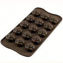 Форма для приготовления конфет Rose силиконовая - Silikomart