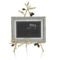 """Рамка для фото на подставке Michael Aram """"Золотая оливковая ветвь"""" 13х18см - Michael Aram"""