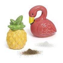 Солонка и перечница Tropico, цвет желтый - Balvi
