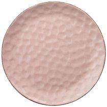 Тарелка Подстановочная 24 см Коллекция Отражение Цвет:Розовая Пудра - Happy Life