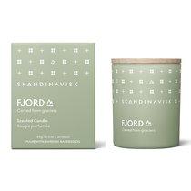 Свеча ароматическая FJORD с крышкой, 65 г (новая) - Skandinavisk