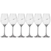 Набор Бокалов Для Белого Вина Из 6 Штук Силуэт 360 мл - Diamante