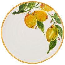 Тарелка Обеденная Cuore Limoni 29 см Без Упаковки - Ceramica Cuore