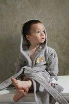 """Халат детский махровый """"KARNA"""" с капюшоном TEENY (Серый) - Bilge Tekstil"""