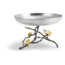 Чаша для фруктов Michael Aram Бабочки гинкго 20см, сталь нержавеющая - Michael Aram
