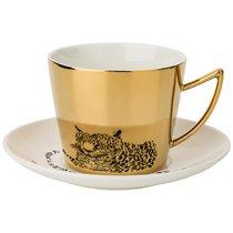 Чайный Набор Leopard На 1Пер. 2Пр. 220Мл, Золотой - Rongshengyuan