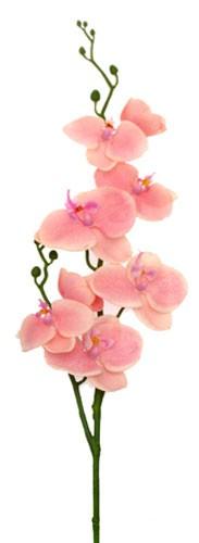 Фаленопсис розовый 75 см живое прикосновение 24 шт. - Top Art Studio