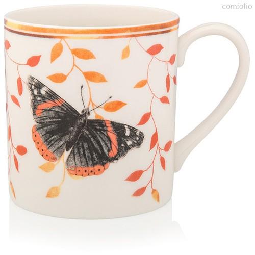 """Кружка Lenox """"Бабочки на лугу.Адмирал"""" 300мл, п/к - Lenox"""