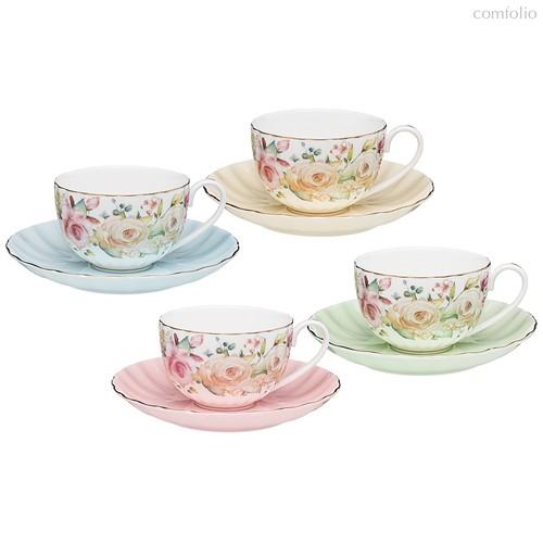 Чайный Набор Lefard Времена Года 280 мл 8 Пр. На 4 Пер. Микс - Kingensin Porcelain Industrial
