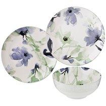 Набор Обеденный Aquarelle на 4 персон12Пр. Голубой 25,5/20,5/16 см, цвет голубой - Songfa ceramics