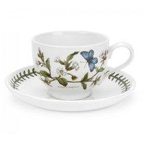 """Чашка чайная с блюдцем Portmeirion """"Ботанический сад. Смолевка"""" 280мл - Portmeirion"""