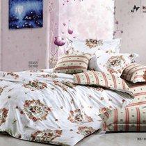 Комплект постельного белья С-115, цвет белый, размер 1.5-спальный - Valtery