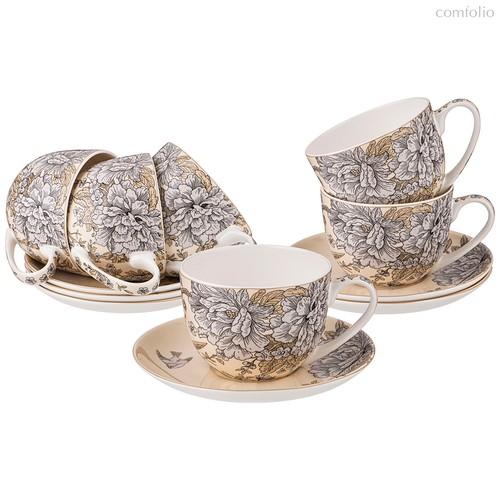 Чайный Набор Lefard Royal Garden На 6Пер. 12Пр. 330 мл - Shanshui Porcelain