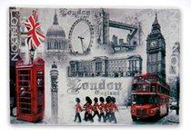 Лондон Магнит на холодильник 8 см набор 24 шт - Lesser & Pavey