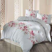 Постельное белье Ranforce Belissa, цвет ментоловый, размер Евро - Altinbasak Tekstil