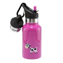 Детская термос-фляга TEMPflask™ Cow 0.35л фиолетовая, цвет фиолетовый - Carl Oscar