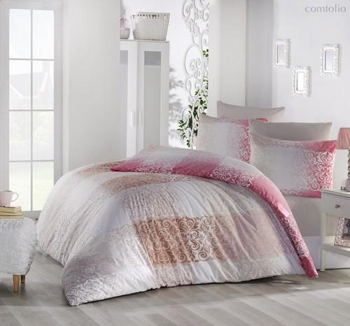 Постельное белье Ranforce Elfin, цвет розовый, размер 1.5-спальный - Altinbasak Tekstil