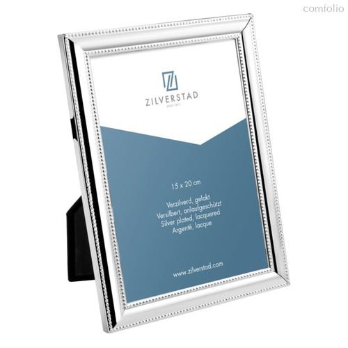 Рамка для фото Zilverstad Pearl 15х20м, сталь, глянцевая, серебряная - Zilverstad