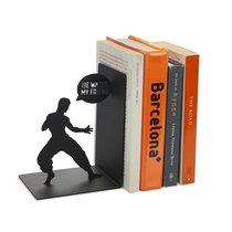 Держатель для книг Bruce, цвет черный - Balvi