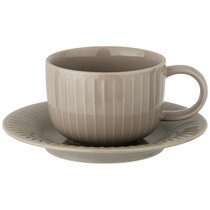 Чайный Набор На 1Пер. 2Пр. Majesty 220 мл Серый, цвет серый - Shunxiang Porcelain