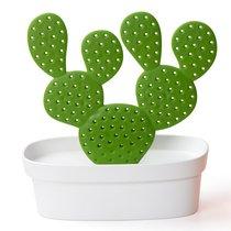 Органайзер для мелочей Caccessories, белый с зеленым - Qualy