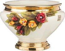 Кашпо Под Цветы Розы Кремовая Высота 28 см Диаметр 40 см (Кор 1 шт. ) - Ceramiche Stella