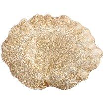 Блюдо Crown Gold 36Х28 см Без Упаковки