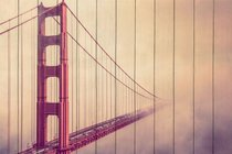 Мост в тумане 60х90 см, 60x90 см - Dom Korleone