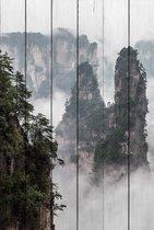 Горы Китай 30х40 см, 30x40 см - Dom Korleone