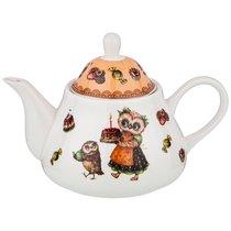 Чайник Совушки 350мл - Shunxiang Porcelain