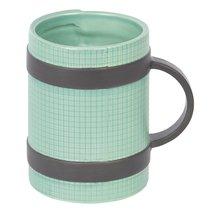 Кружка Yoga Mug зеленая - DOIY