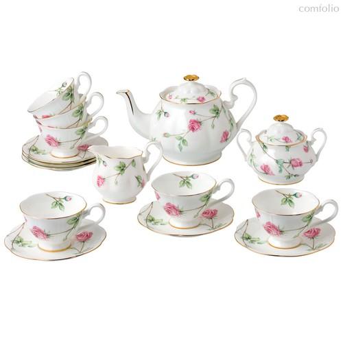 Розетт чайный сервиз 15пр - Top Art Studio