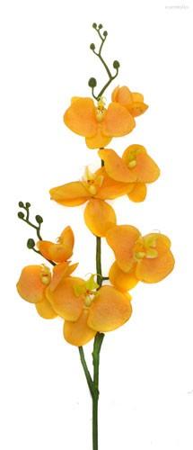 Фаленопсис оранжевый 75см живое прикосновение 24 шт.в упак. - Top Art Studio