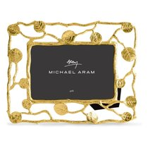 "Рамка для фото Michael Aram ""Ботаника"" 18х23см (золотист.) - Michael Aram"