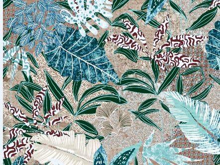 Ткань лонета микро Палерма ширина 280 см/ 3093, цвет серый - Altali