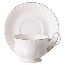 Чайная пара для завтрака Золотой берег 400 мл
