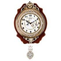 Часы Настенные Кварцевые С Маятником 32X7, 5X55 см Диаметр 19 см - Shantou Lisheng