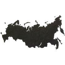 Карта-пазл Wall Decoration 'Российская Федерация', 98х53 см, черная - Mimi