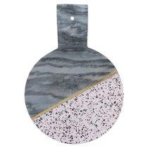 Доска сервировочная из мрамора и камня Elements D 25 см - Typhoon