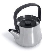 Чайник 2в1 для плиты и заварочный 1л (металл) Ron, цвет металл - BergHOFF