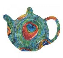 Подставка под чайный пакетик Lesser & Pavey Павлин 13x10см - Lesser & Pavey