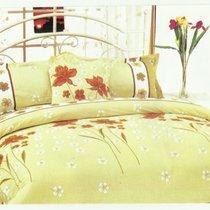 Комплект постельного белья MF-06, цвет зеленый, Семейный - Valtery