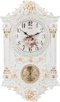Часы Настенные Кварцевые С Термометром 38X11, 5X65 см Диаметр Циферблата 24 см - Shantou Lisheng