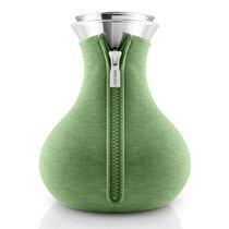 Чайник заварочный Tea maker в неопреновом текстурном чехле, 1 л , светло-зелёный - Eva Solo