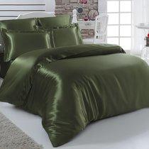 Постельное белье Karna Arin, шелк, цвет зеленый, размер 2-спальный - Karna (Bilge Tekstil)