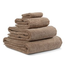 Полотенце банное коричневого цвета из коллекции Essential, 70х140 см - Tkano