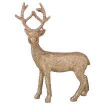 Фигурка Олень Цвет Легкое Золото 17x7,5x23 см - Polite Crafts&Gifts